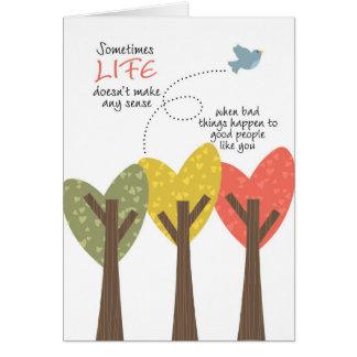LIFE doesn t make any sense Card