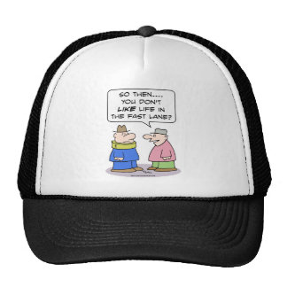 life fast lane neck brace like hat