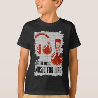 Life For Music.png T-Shirt