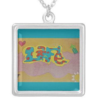 Life Graffiti necklace