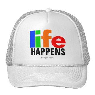 Life happens hat
