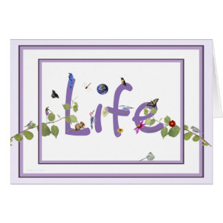Life: Happy Continuation Day Card