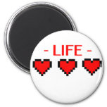 Life Hearts Magnets