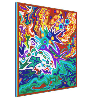 Life Ignition Canvas Print