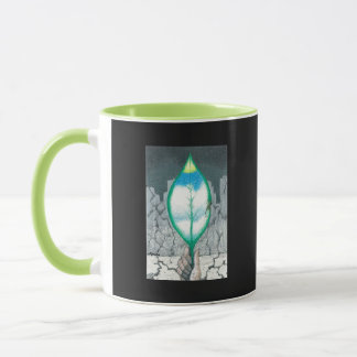 Life in a Leaf -(phrase on back) Mug