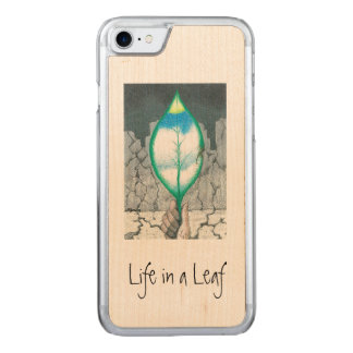 Life in a Leaf (slim) Carved iPhone 7 Case