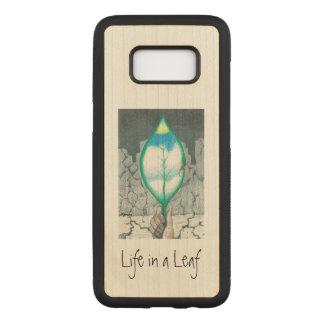 Life in a Leaf (slim) Carved Samsung Galaxy S8 Case