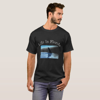 Life in Florida Shark Fin T-Shirt