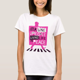Life in Peace by TheOneOfCrows T-Shirt