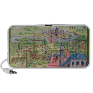 Life in the City and Life in the Country Laptop Speaker