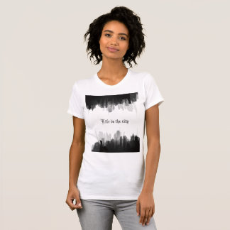 """""""Life in the city"""" woman's t-shirt"""
