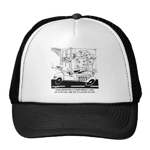 Life In The Fast Lane Mesh Hat