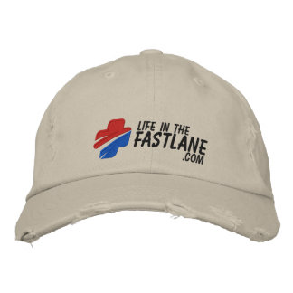 Life in the Fast Lane Hat (Light) Embroidered Hats