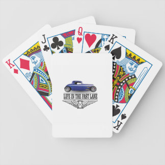 life in the fast lane poker deck