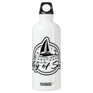 Life In The Key of Sea Water Bottle