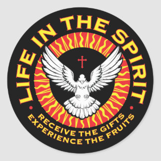 Life in the Spirit Stickers