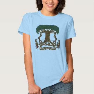 Life Interwoven Ladies Babydoll T-Shirt