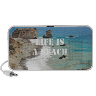 Life Is A Beach Doodle Speaker