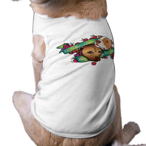 Life is a Bowl of Cherries... Sleeveless Dog Shirt