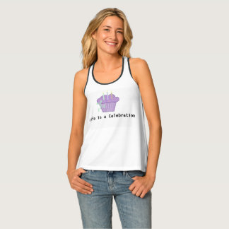 Life is a Celebration Cupcake Tank Top