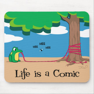 Life is a Comic Mouse Pad