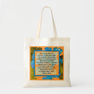 life is a fun journey tote bag