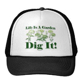 Life is a Garden Hats