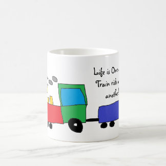 Life is a great train ride MUG