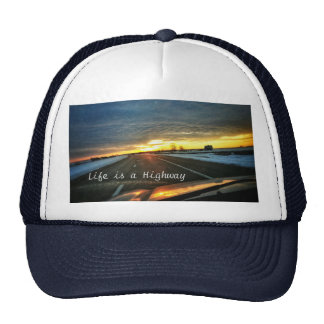 Life is a Highway Trucker Hat