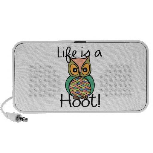 Life is a Hoot Mini Speaker