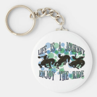 LIFE IS A JOURNEY, ENJOY THE RIDE KEY RING