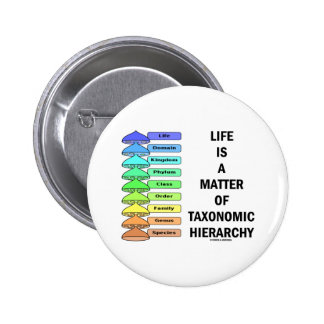 Life Is A Matter Of Taxonomic Hierarchy Biology Pins