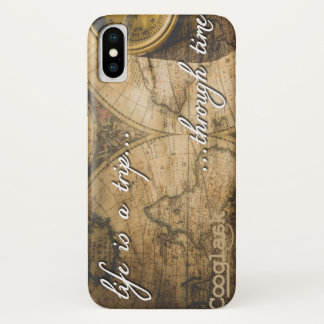 life is a trip...through time! iPhone x case