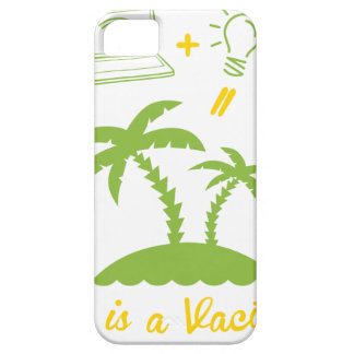 Life is a Vacation Barely There iPhone 5 Case