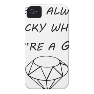 life is always rocky when you're a gem iPhone 4 cover