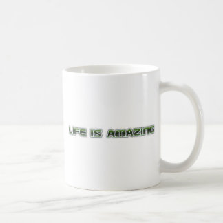 Life is amazing shirt coffee mug
