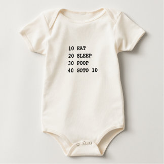 Life is BASIC organic Baby Bodysuit
