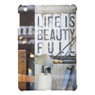 Life is Beauty Full Cover For The iPad Mini