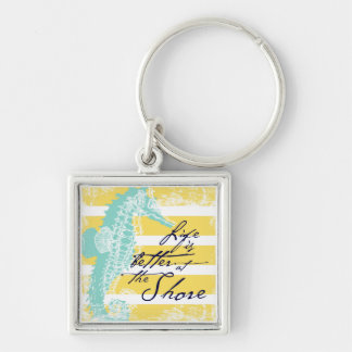 Life is Better at the Shore Key Ring