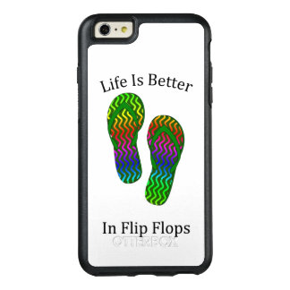 Life Is better In Flip Flops OtterBox iPhone 6/6s Plus Case