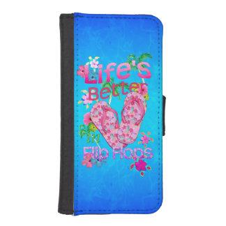 Life Is Better In Flip Flops Phone Wallet Case