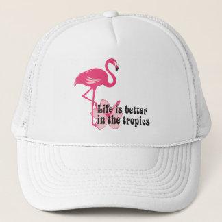 Life Is Better In The Tropics Cap
