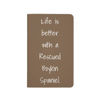 Life is Better Rescue Pocket Notebook