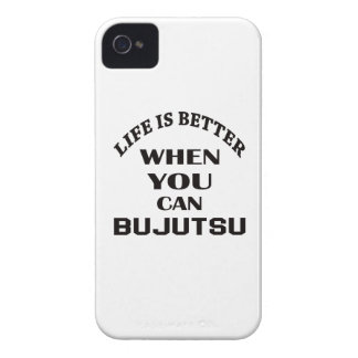 Life Is Better When You Can Bujutsu iPhone 4 Covers