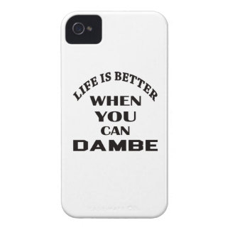 Life Is Better When You Can Dambe Case-Mate iPhone 4 Cases