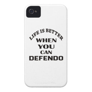 Life Is Better When You Can Defendo iPhone 4 Cover