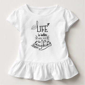 Life is Better When You're Laughing | Ruffle Tee