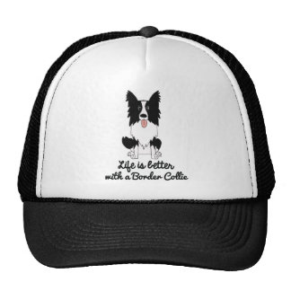 Life is better with a border collie cap