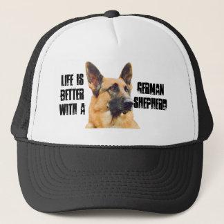 Life is Better With a German Shepherd Trucker Hat