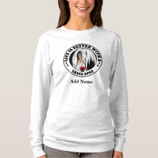 Life Is Better With A Lhasa Apso Personalized T-Shirt